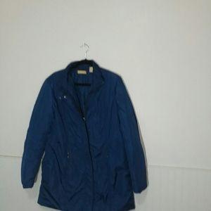 Ladies blue jacket,coat kate hill size 14 EUC